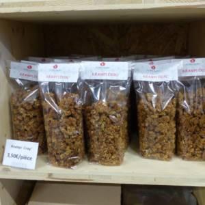 Krampi croq proposé au magasin de la ferme de Keroudy