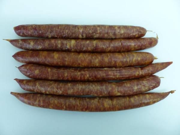 Saucisses fumées de la Ferme de Keroudy